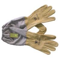 Перчатки кожаные с манжетами