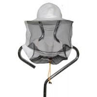 Шляпа пчеловодческая из льна (сетка сзади)