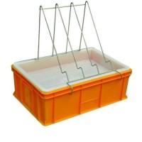 Ванночка для распечатки пластик (200 мм, сито пластик)