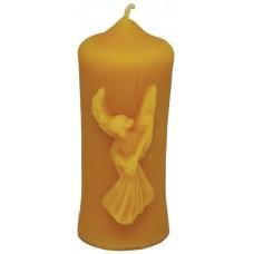 Форма силіконова Свічка звичайна з ангелом (9,5см)