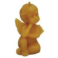 Форма силиконовая Ангелочек с подпертой головой (8,5 см)