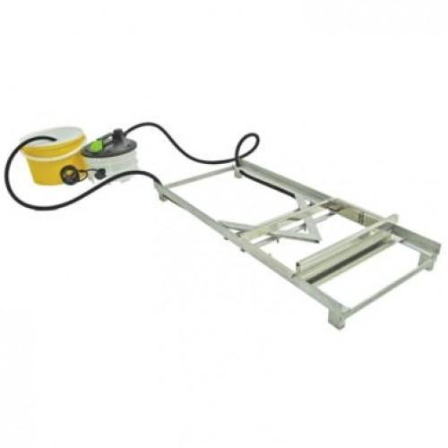 Стіл для розпечатування накладний з ножем паровим 1000 мм