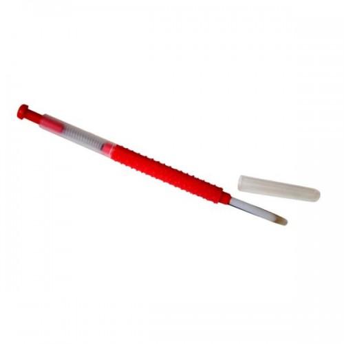 Шпатель для переноса личинок красный
