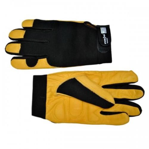 Перчатки кожаные (МЕХ)