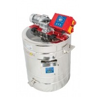 Устройство для кремирования меда 100 л 230В с плащом греющим автомат