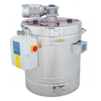 Пристрій для кремування меду 200 л 230В з плащем гріючим автомат