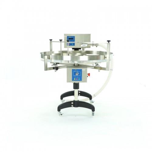 Устройство для дозирования, кремирования и накачки меда со столом вращающимся