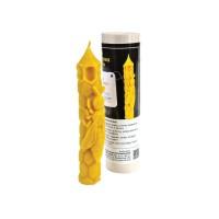 Форма силиконовая Свеча с ломтем большая (16см)