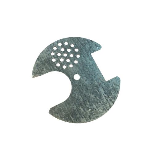 Льотковий загороджевач круглий Ø 60 (оцинкований)