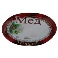 Мед Гречишный (62х90)