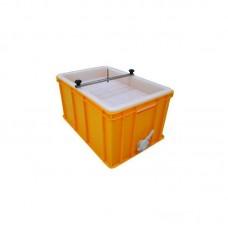 Ванночка для вскрытия пластик (300мм, сито пластик) со штифтом