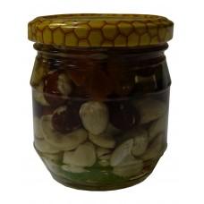 Мед з горішками (0,270л.)