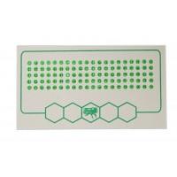 Метки для маток зеленый цвет (500-1000) упаков.