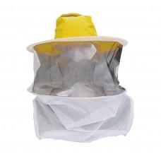 Шляпа пчеловода  (сетка по кругу)