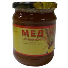 Мед с разнотравья (0,500л.)