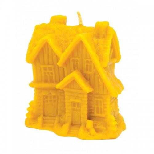 Форма силиконовая Зимний домик с елками