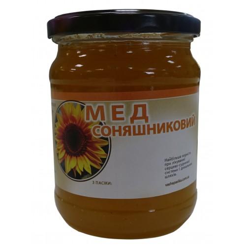 Мед Соняшниковий (0,500л.)