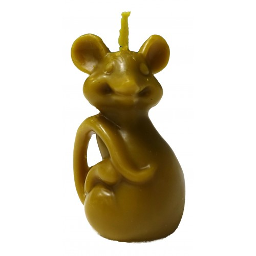 "Свічка ""Мишка велика з хвостиком"""