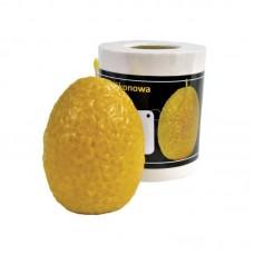 Форма силіконова Яйце з квітами (9см)