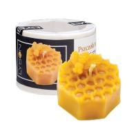Форма силіконова Бджола на сотах (3,5 см)