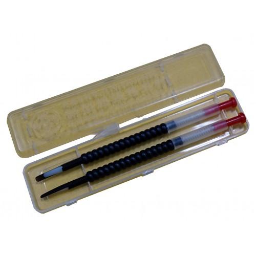 Шпатель для переноса личинок черный (комлект 2 шт.)