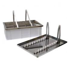 Ванночка для розпечатування двохфункціональна (200 мм, сито нержав.)