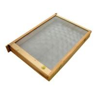 Ізолятор для підсадки маток 1-рамковий Дадан (дер, сітка мет.)