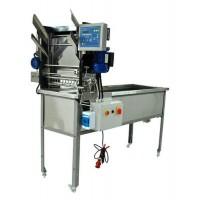 Стіл для розпечатування з подавачем автомат 400В, ножі електр.