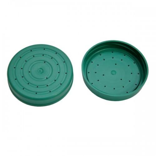 Крышка пластиковая с отверстиями (для подкормки)