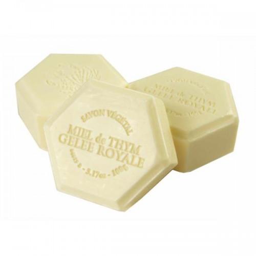 Мыло медовое с маточным молочком французское