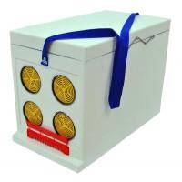 Ящик Дадан для транспортировки пчел 6-рамочный, некрашеный
