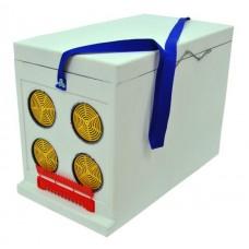 Ящик Дадан для транспортування бджіл 6-рамковий, нефарбований