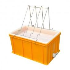 Ванночка для розпечатування пластик (300 мм, сито пластик)