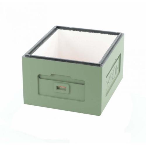 Корпус улья пенополистирол 10 рамок Дадан Lyson крашеный (зеленый)