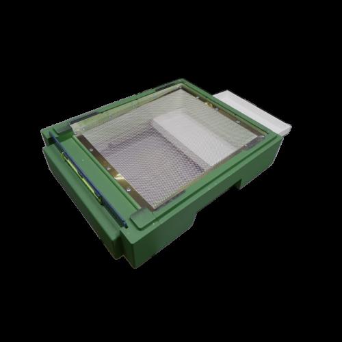 Дно пінополістирол 10 рамок Lyson гігієнічне фарбоване (зелене)_1
