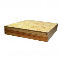 Дашок дерев'яний на 10-рамковий вулик