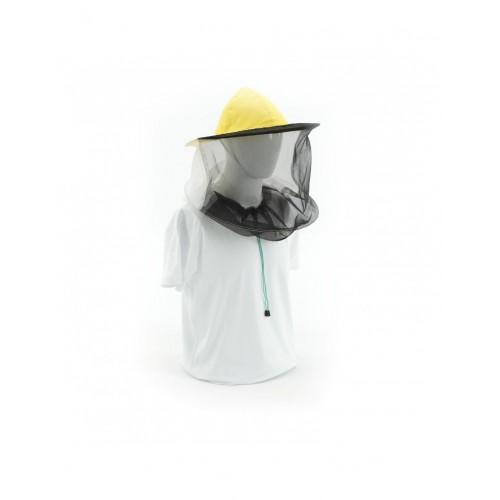 Капелюх бджолярський бавовняний (сітка ззаду)_1