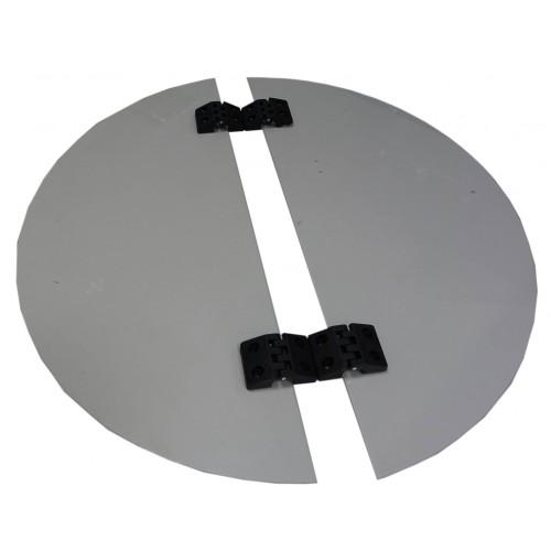 Крышка пластиковая к медогонокам Ø 600 (с петлями)