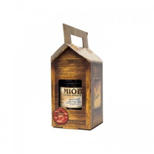 Упаковка картонна декоративна на банку 900 мл