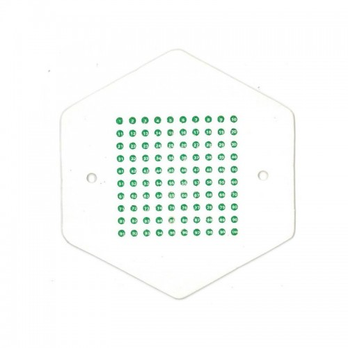 Метки для маток зеленый цвет