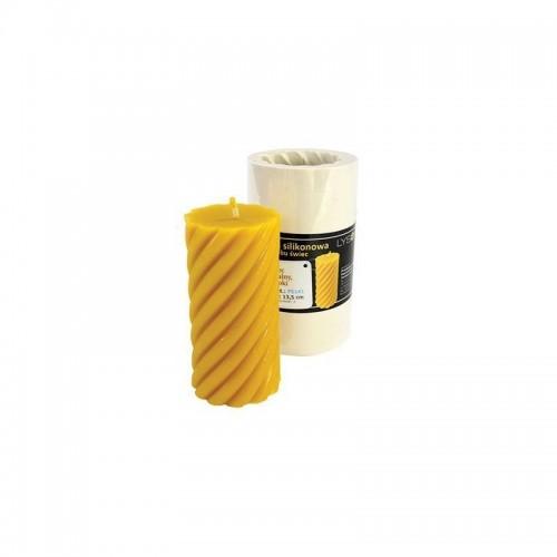 Форма силиконовая Ролик большой Спиральный (13,5см)