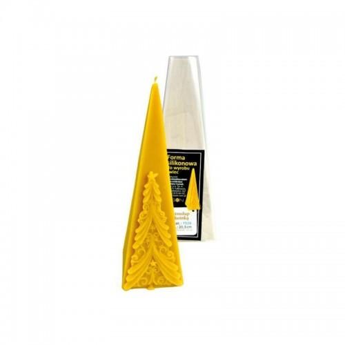Форма силіконова Піраміда з Ялинкою  (20,5см)