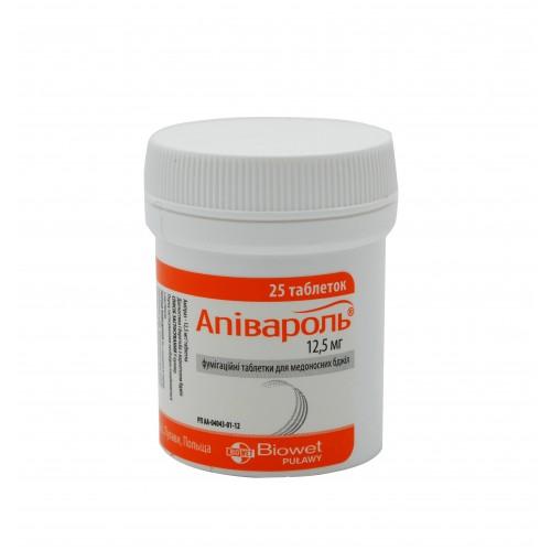 Препарат від вароатозу Апівароль (25 таблеток)