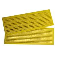 Решетка пильцеуловительная пластиковая широкая 40,8см х 14,8см Lyson