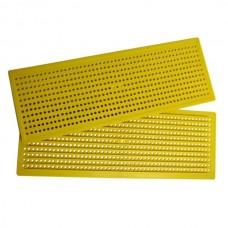Решітка пилковловлювальна пластикова широка 40,8см х 14,8см Lyson
