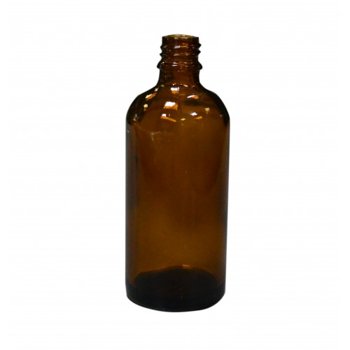 Пляшечка 100 мл. коричнева (скляна)