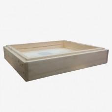 Потолок деревяный (10-ти рамочный)