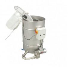 Отстойник с насосом для фильтрации меда